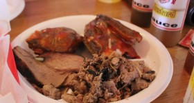 south carolina barbecue, tastes like travel, www.tastesliketravel.com, K T's Barbecue Shack, barbecue, carolina style,